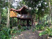Cabana nas �rvores  Bouillante 2 a 6 pessoas