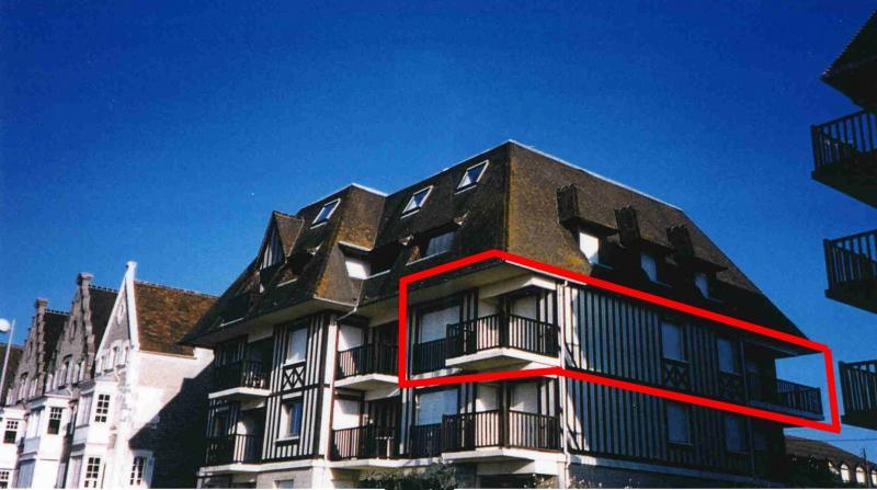 Vista exterior do alojamento Locação Apartamentos 10782 Cabourg