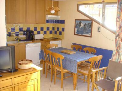 Sala de jantar Loca��o Apartamentos 1167 Les 2 Alpes