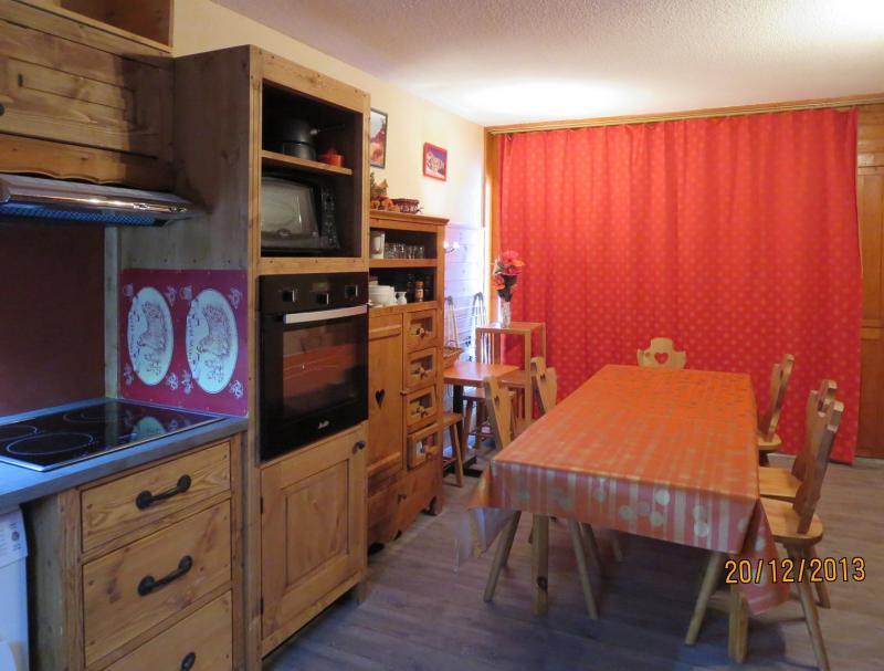 Sala de jantar Locação Apartamentos 124 Les Arcs