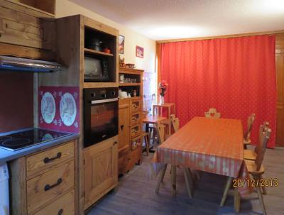 Sala de jantar Loca��o Apartamentos 124 Les Arcs