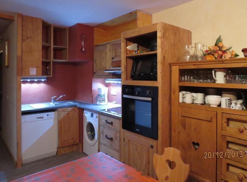 Cozinha americana Locação Apartamentos 124 Les Arcs