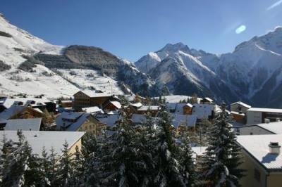 vista da varanda Loca��o Apartamentos 1297 Les 2 Alpes