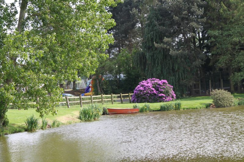Vista dos arredores Locação Mobil Home 13330 Bayeux