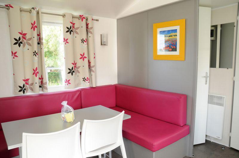 Sala de estar Locação Mobil Home 13330 Bayeux