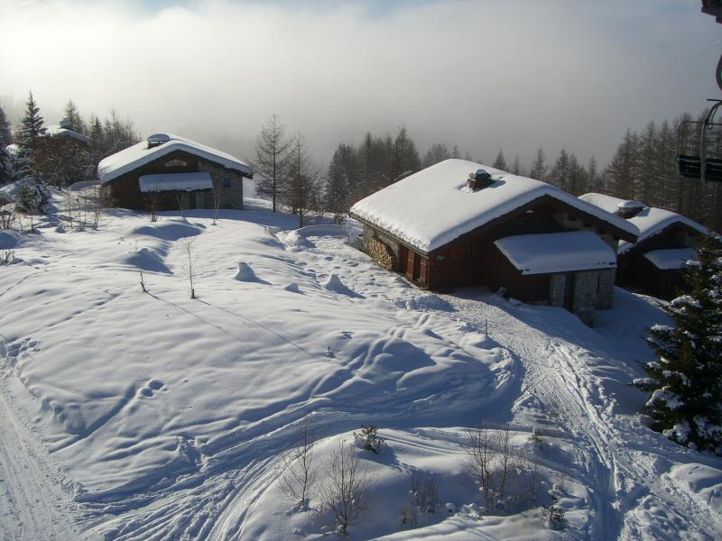 Vista exterior do alojamento Locação Chalé 136 Les Arcs