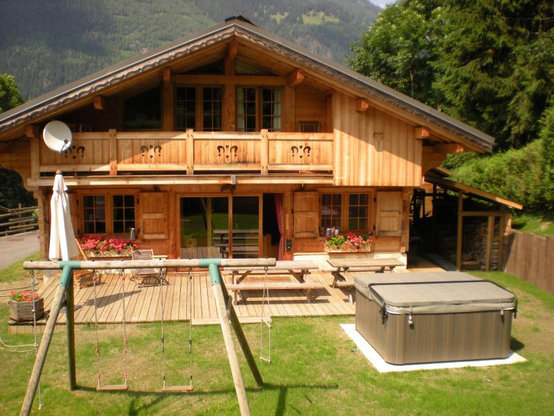 Vista exterior do alojamento Locação Chalé 1412 Chamonix Mont-Blanc