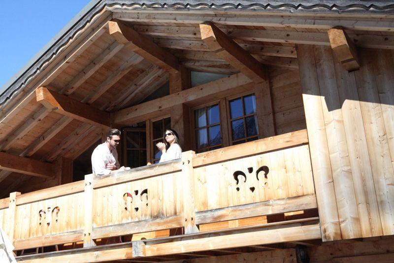Varanda Locação Chalé 1412 Chamonix Mont-Blanc