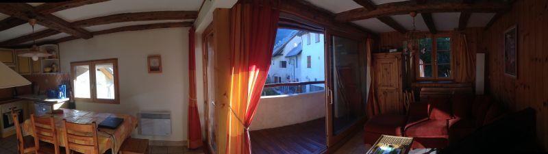vista da varanda Locação Apartamentos 14750 Serre Chevalier