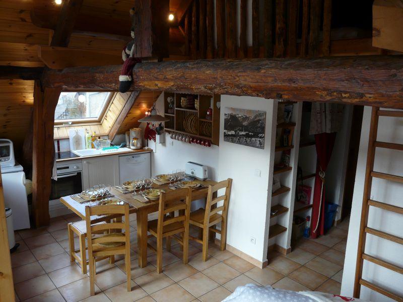 Sala de jantar Locação Apartamentos 14750 Serre Chevalier