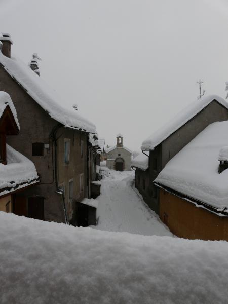 Vista desde do alojamento Locação Apartamentos 14750 Serre Chevalier