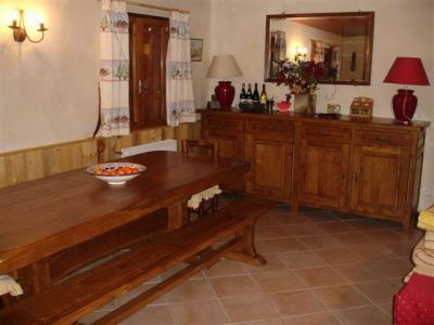 Sala de jantar Loca��o Chal� 14951 Courchevel