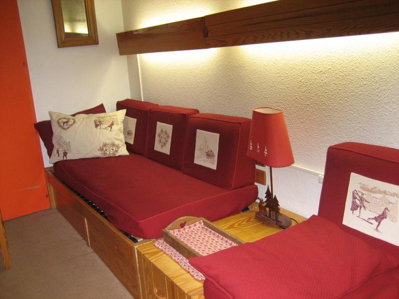 Sala de estar Locação Apartamentos 1629 Les Menuires