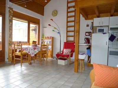 Sala de estar Loca��o Apartamentos 17375 Saint Jean d'Aulps- La Grande Terche