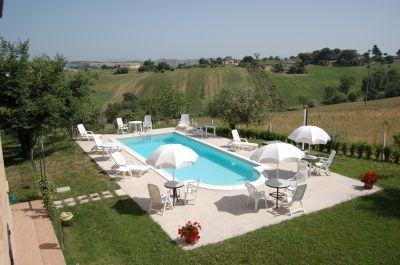 Piscina Locação Casa de turismo rural/Casa de campo 17670 Macerata