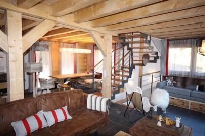 Sala de estar Loca��o Chal� 20217 Saint Jean d'Aulps- La Grande Terche