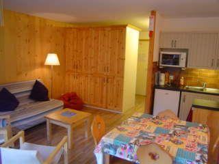 Sala de estar Loca��o Apartamentos 2507 Saint Jean d'Aulps- La Grande Terche