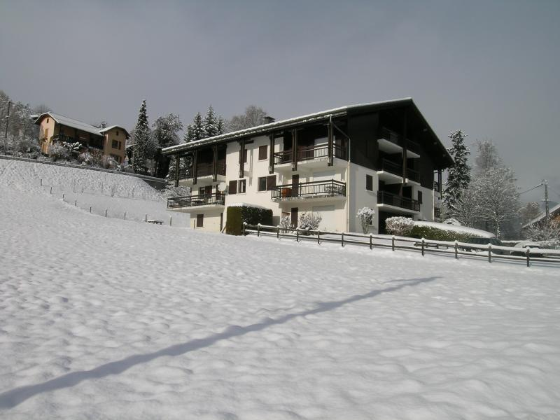 Vista exterior do alojamento Locação Apartamentos 2553 Saint Gervais Mont-Blanc