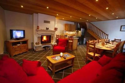 Sala de estar Locação Apartamentos 26150 Valloire