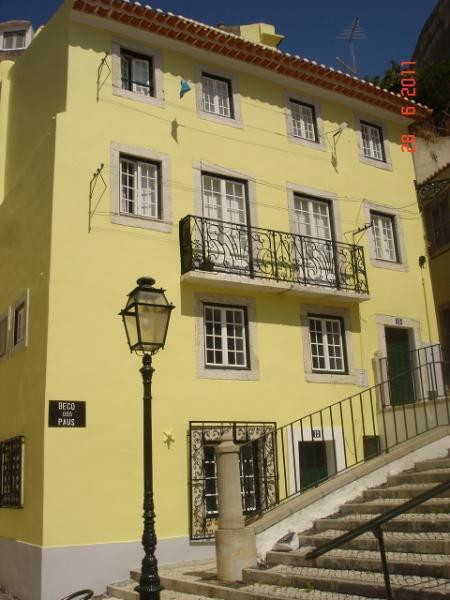 Planta do alojamento Locação Apartamentos 26404 Lisboa