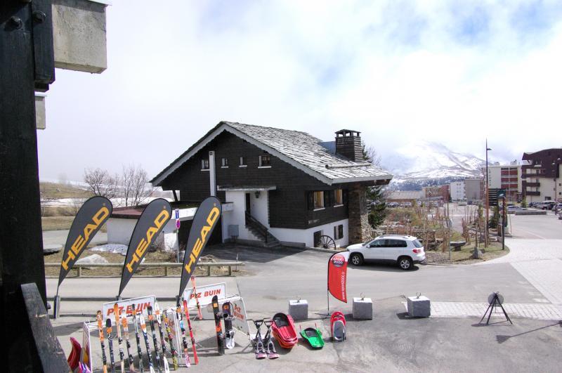 vista da varanda Locação Apartamentos 27 Alpe d'Huez