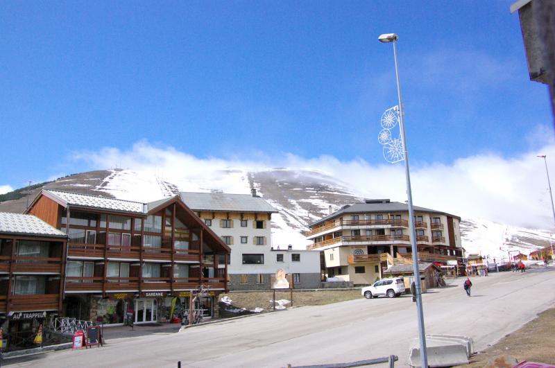 Vista desde do alojamento Locação Apartamentos 27 Alpe d'Huez