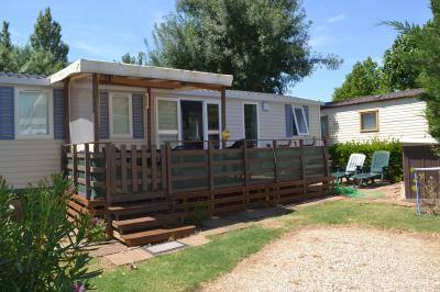 Vista exterior do alojamento Locação Mobil Home 29448 Vias Praia