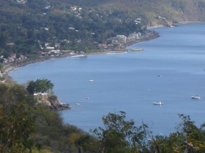 Vista do terra�o Loca��o Casa de turismo rural/Casa de campo 29739 Bouillante