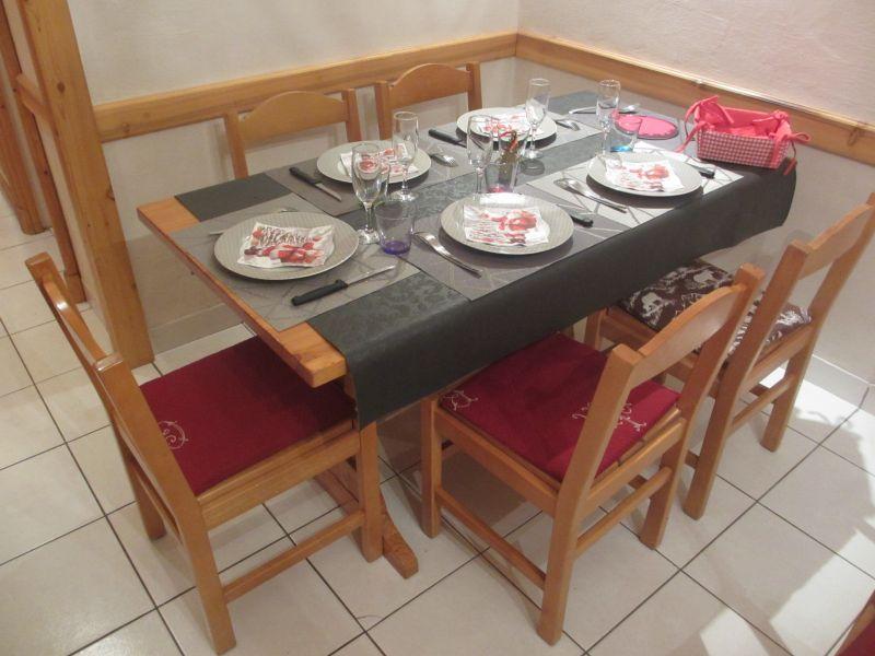 Sala de estar Locação Apartamentos 3085 Tignes