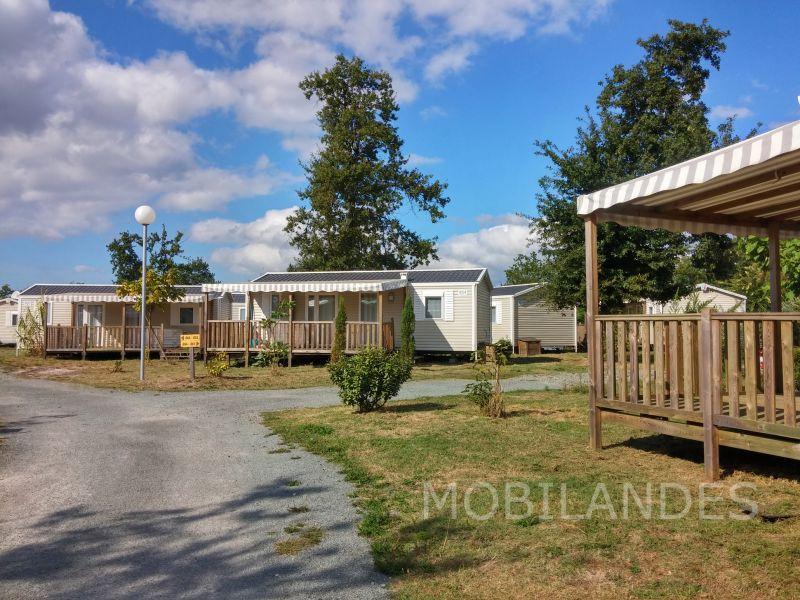 Vista exterior do alojamento Locação Mobil Home 31432 Biscarrosse