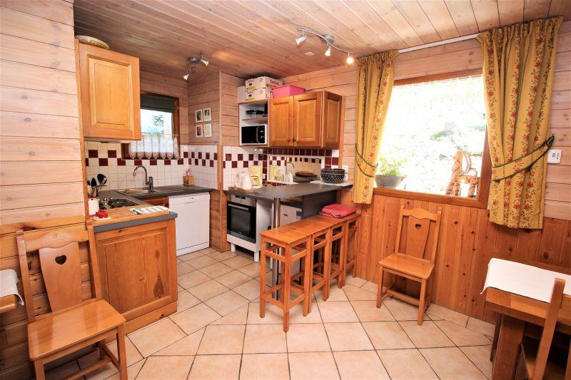 Cozinha americana Locação Chalé 3290 Valfréjus