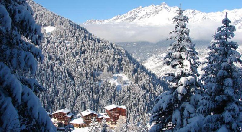 Vista dos arredores Locação Chalé 3291 Valfréjus