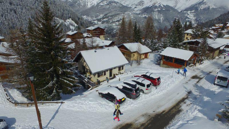 Vista exterior do alojamento Locação Chalé 3300 Valfréjus