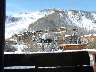 vista da varanda Loca��o Est�dio 3343 Val d'Is�re