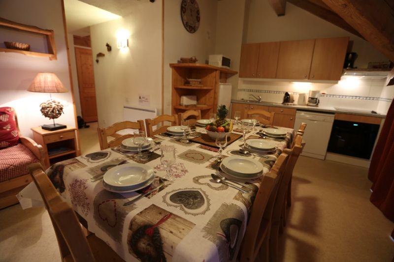 Sala de estar Locação Apartamentos 3411 Valloire