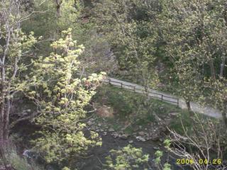 vista da varanda Loca��o Est�dio 3938 Ax Les Thermes