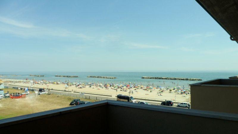 Vista do terraço Locação Apartamentos 40527 Rimini