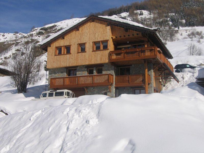 Vista exterior do alojamento Locação Chalé 41939 Les Menuires