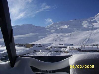 Vista desde do alojamento Loca��o Est�dio 4377 Piau Engaly