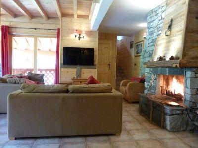 Sala de estar Loca��o Apartamentos 4774 Sainte Foy Tarentaise