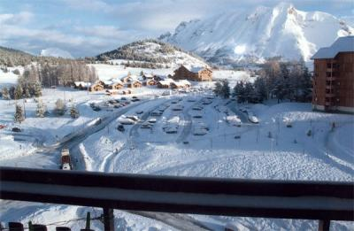 vista da varanda Locação Estúdio 49225 Superdévoluy- La Joue du Loup
