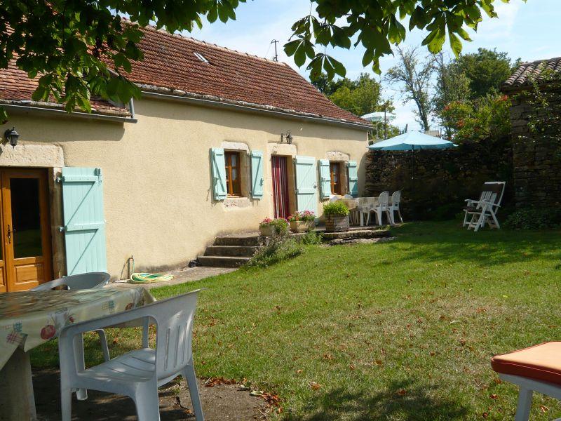 Jardim Locação Casa de turismo rural/Casa de campo 51135 Saint-Cirq-Lapopie