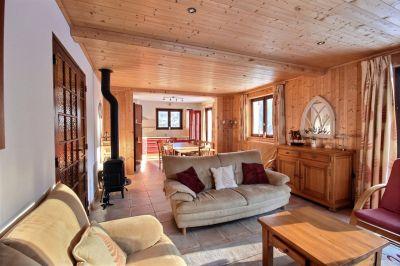 Sala de estar Locação Chalé 55341 Saint Jean d'Aulps- La Grande Terche