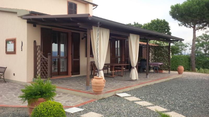 Terraço coberto Locação Vivenda 55549 Roccastrada