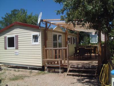 Vista exterior do alojamento Loca��o Mobil Home 58302 Saint Aygulf