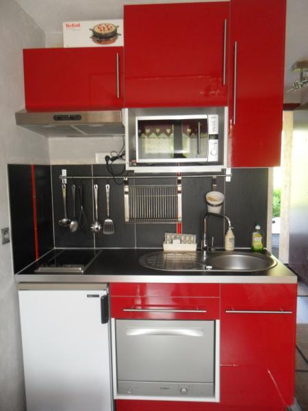 Canto cozinha Locação Estúdio 59631 Les Menuires