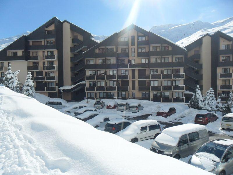 Parque de estacionamento Locação Estúdio 59631 Les Menuires