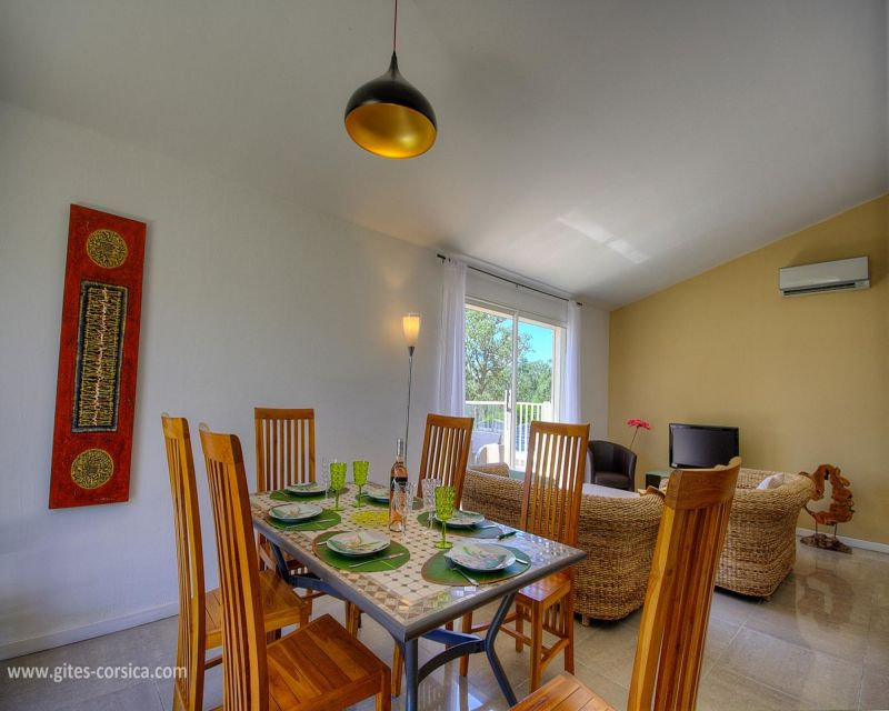 Sala de estar Locação Vivenda 59939 Porto Vecchio