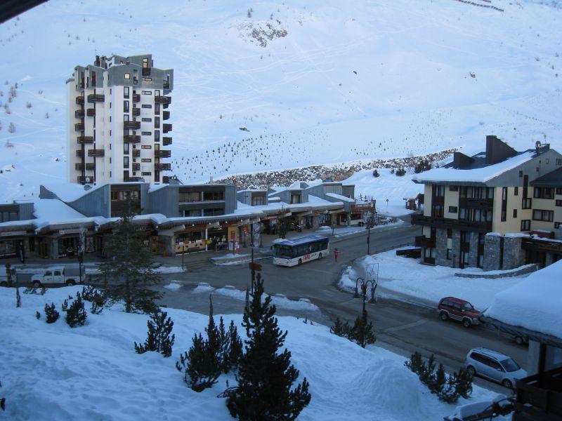 Vista desde do alojamento Locação Apartamentos 60012 Tignes
