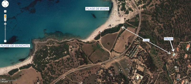 Planta do alojamento Locação Apartamentos 61780 Location Ile Rousse